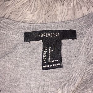 """Forever 21 Tops - Forever 21 """"Pretty Mess"""" Tank"""